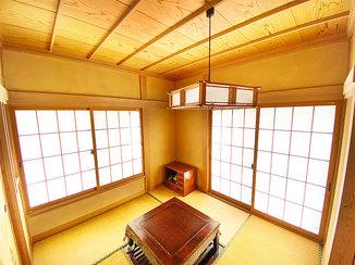 内装リフォーム 寒さをふせぐ和紙調の内窓