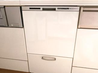 キッチンリフォーム 迅速に取り替えたビルトイン食洗機